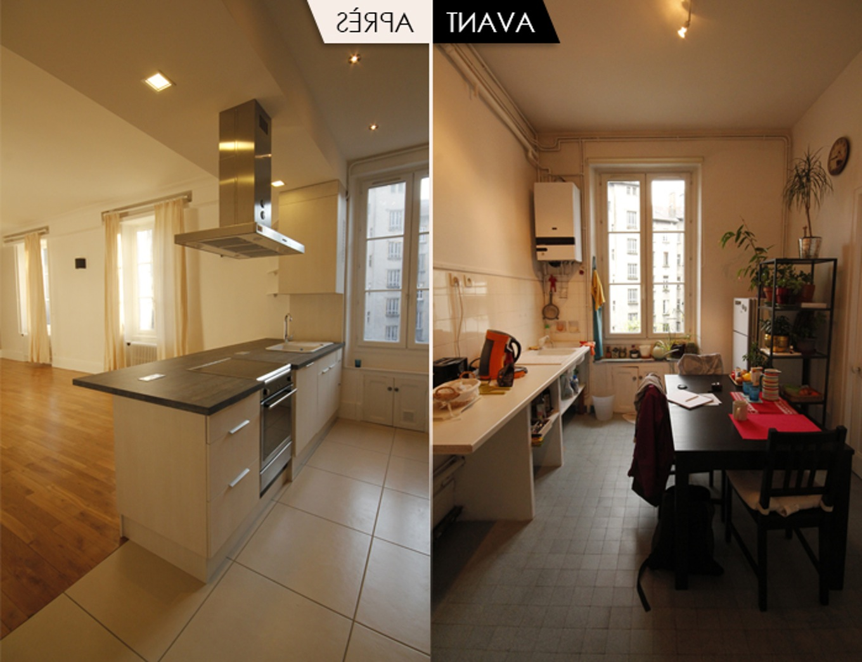 modele de cuisine amenagee moderne maison parallele. Black Bedroom Furniture Sets. Home Design Ideas