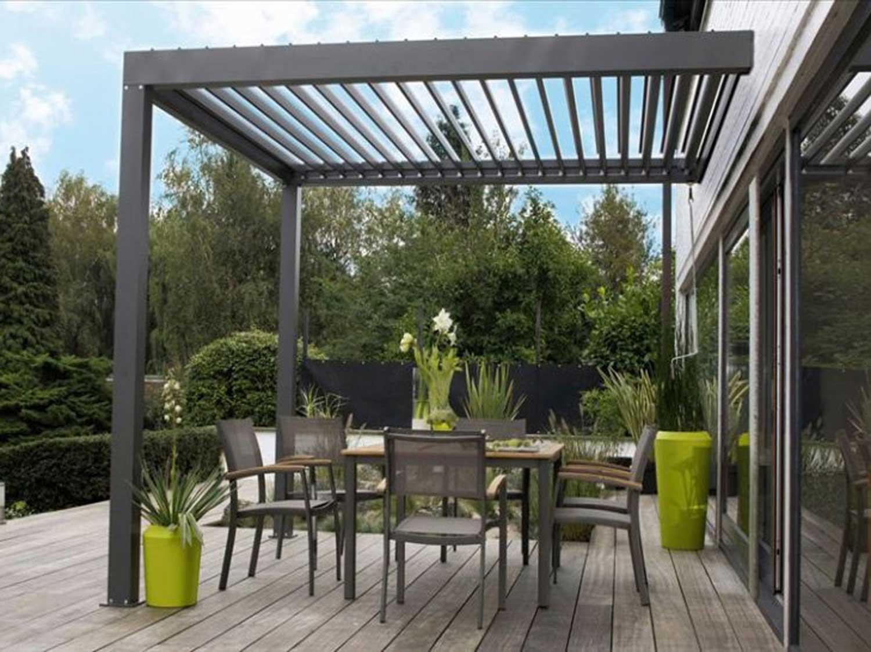 Tonnelle pour terrasse exterieur