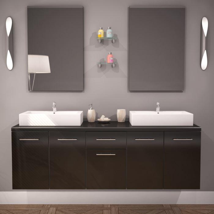 Ou trouver meuble salle de bain pas cher maison parallele - Armoire de salle de bain pas cher ...