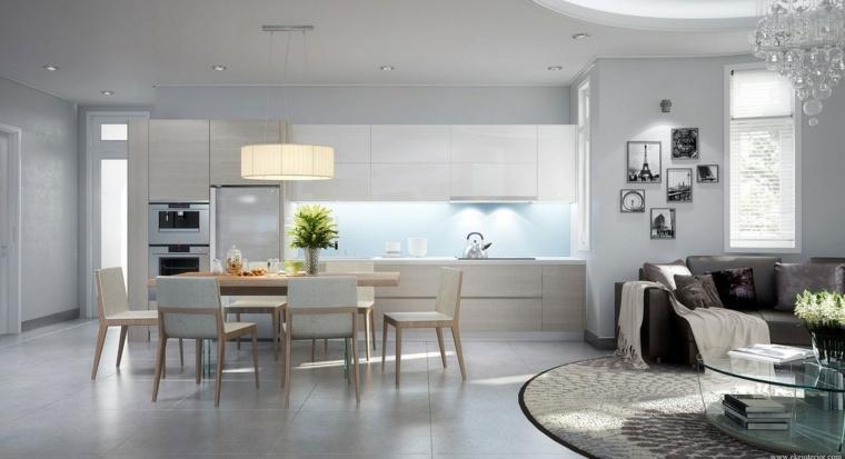 cuisine ouverte sur salon archives page 7 of 16 maison parallele. Black Bedroom Furniture Sets. Home Design Ideas