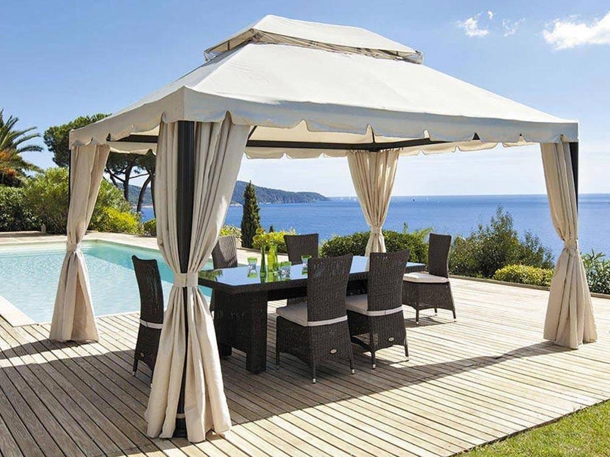 prix tonnelle de jardin maison parallele. Black Bedroom Furniture Sets. Home Design Ideas